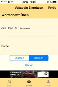 Leo Wörterbuch App Im Test Fernstudierende